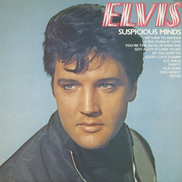 Elvis - Suspicious Minds (LP)