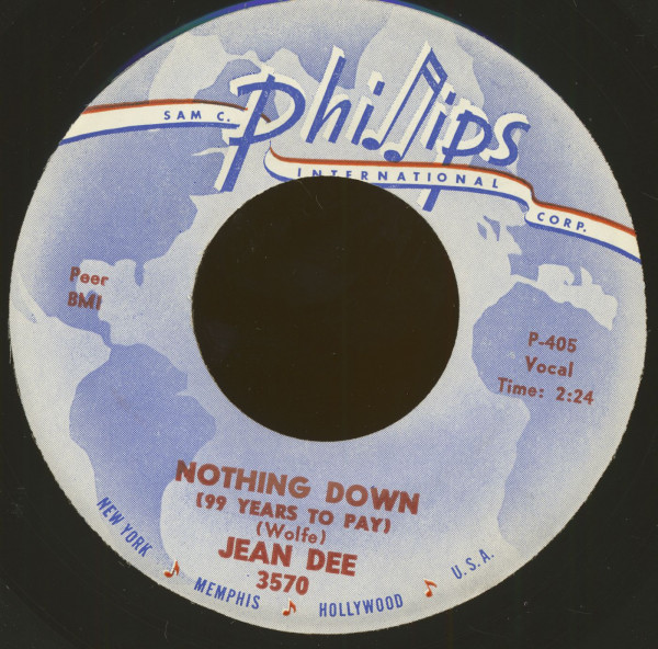 Nothing Down (99 Years To Pay) - My Greatest Hurt (7inch, 45rpm)