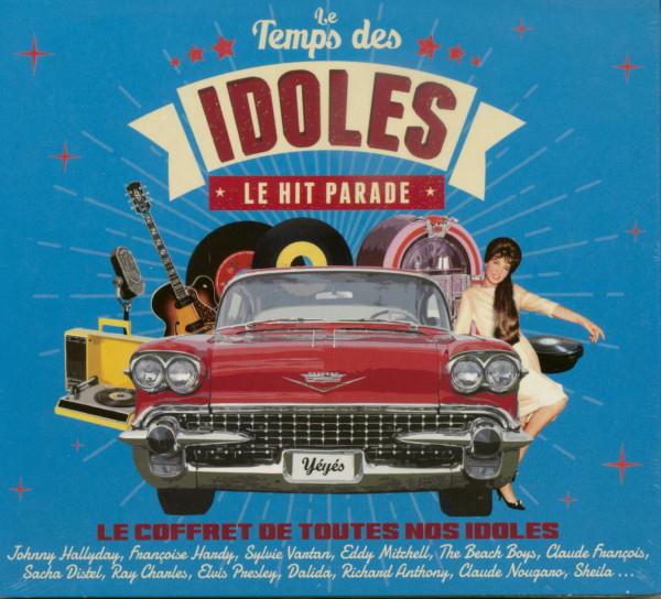 Le Temps Des Idoles - Le Hit Parade (4-CD)