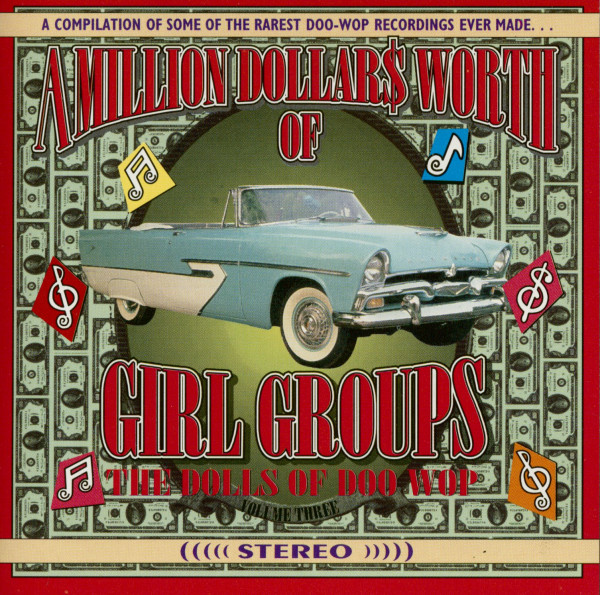 A Million Dollars Worth Of Girl Groups Vol.3 (CD)