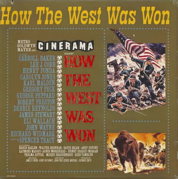How The West Was Won - Soundtrack (LP)