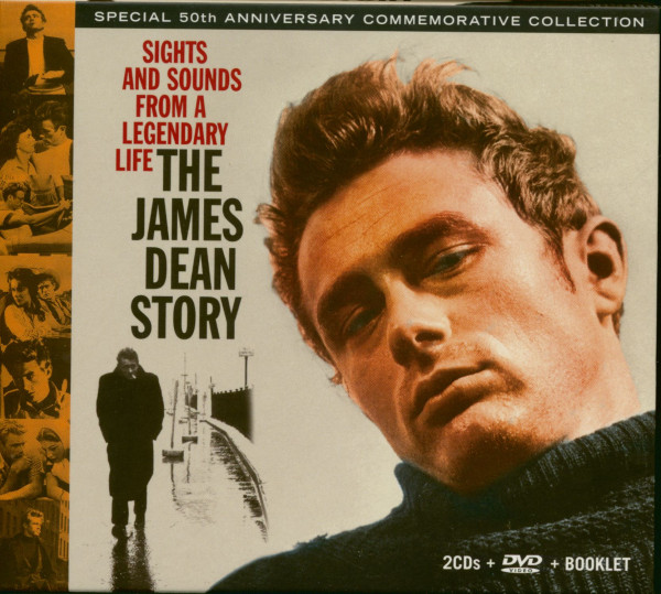 The James Dean Story - Special 50th Anniversary Commemorative Collection (2-CD+DVD)