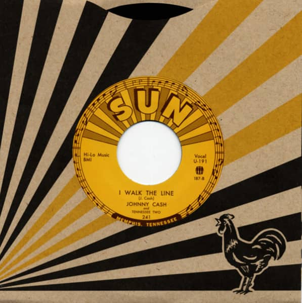 Get Rhythm b-w I Walk The Line (SUN 241 re) 7inch, 45rpm, CS