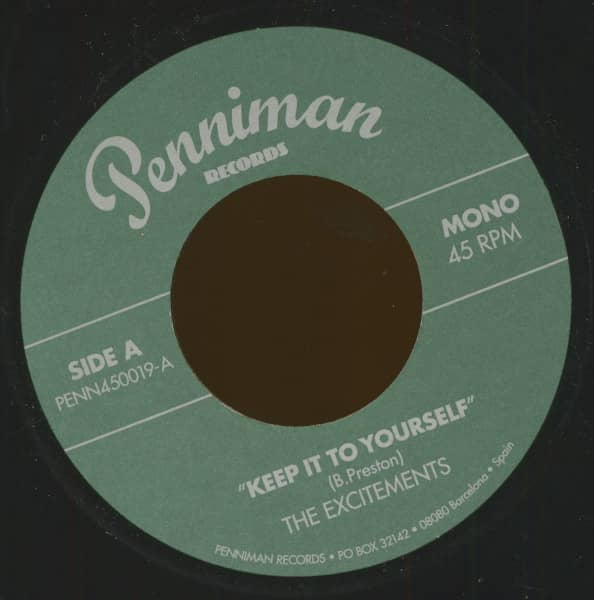 Keep It To Yourself - Give It Back (7inch, 45rpm)