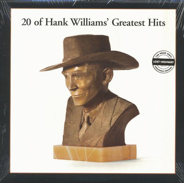 20 Of Hank William's Greatest Hits - 180g Vinyl