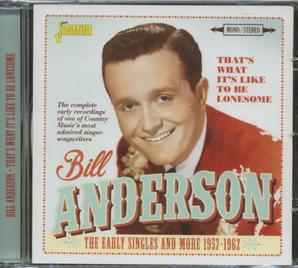 That's What It's Like To Be Lonesome (CD)