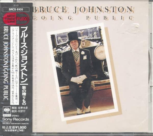 Going Public (CD, Japan)