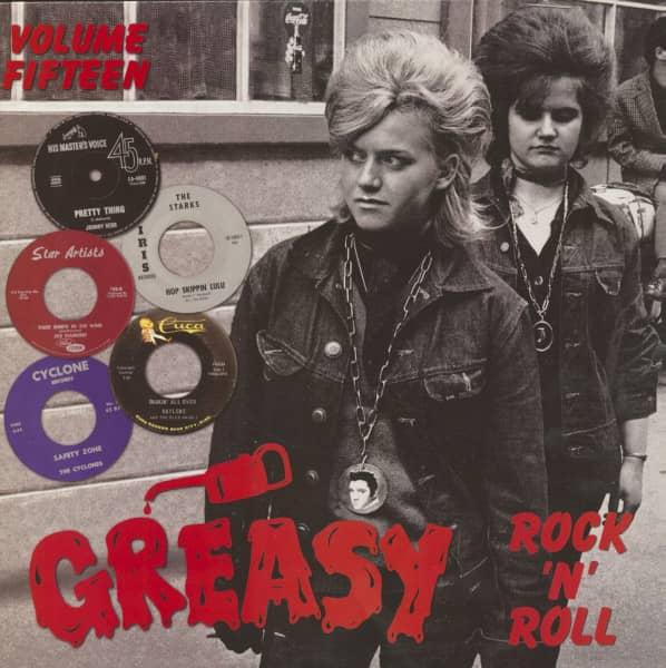 Greasy Rock 'n' Roll, Vol.15 (LP)