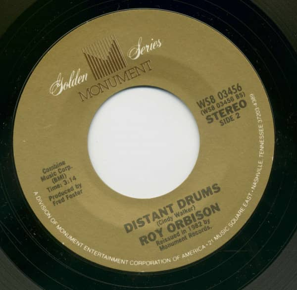 Falling - Distant Drums (7inch, 45rpm, BC)