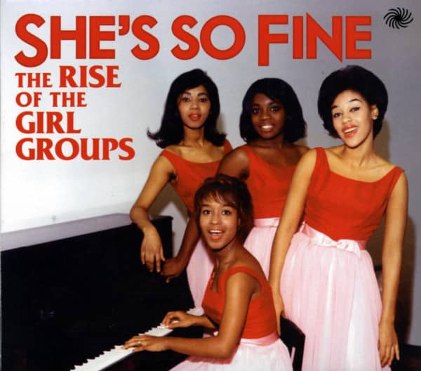 She's So Fine - The Rise Of The Girl Groups (3-CD)
