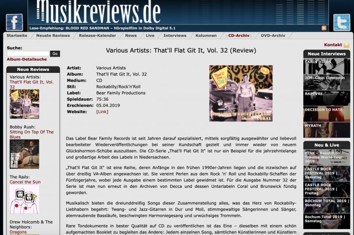Presse-Archiv-Various-That-ll-Flat-Git-It-Vol-32-Musikreviews