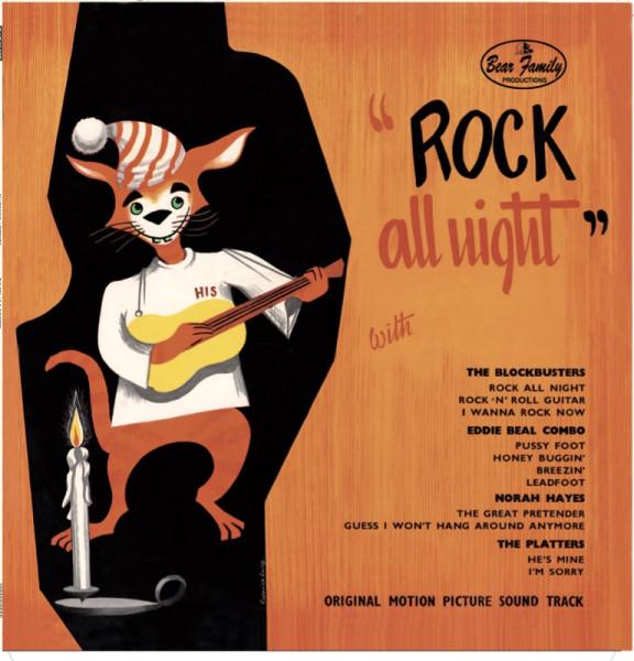 Rock All Night - Soundtrack (LP, 10inch, Ltd.)