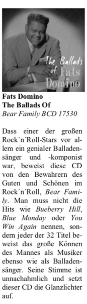 Presse-Archiv-Fats-Domino-The-Ballads-Of-Fats-Domino-Oldie-Markt