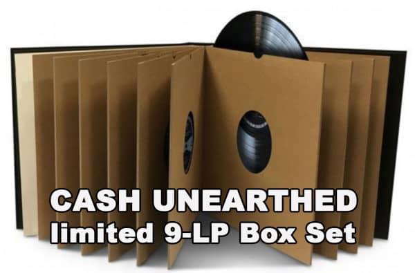 Cash Unearthed (9-LP-Box)