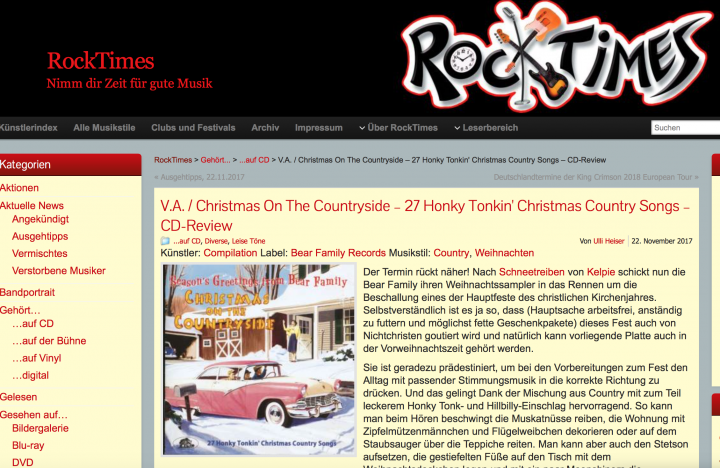 Presse-Various-Christmas-On-The-Countryside-rocktimes