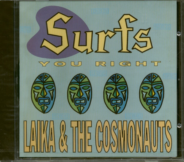 Surfs You Right (CD)