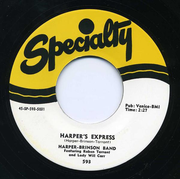 Harper's Express - Harper's Return 7inch, 45rpm