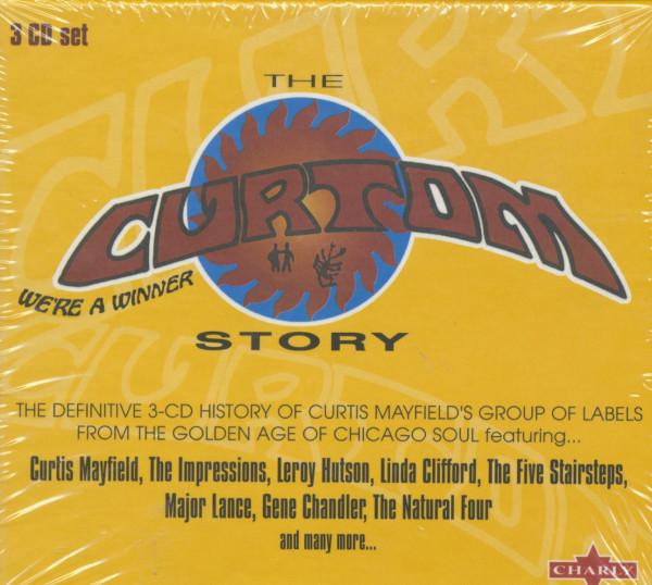 The Curtom Story (3-CDBox)