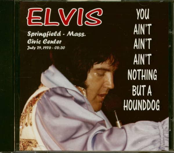 You Ain't Ain't Ain't Nothing But A Hounddog (CD)