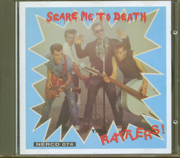 Scare Me To Death (CD)