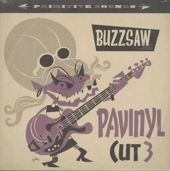 Buzzsaw Joint - Pavinyl Cut 3 (LP)