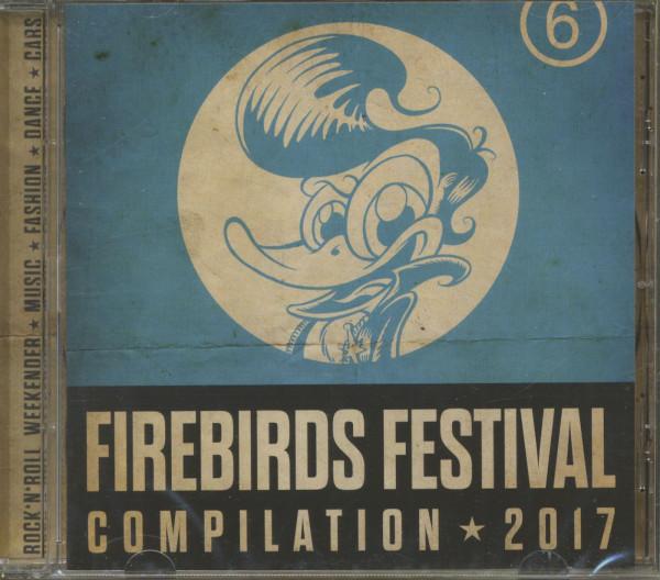 Firebirds Festival Compilation - 2017 (CD)