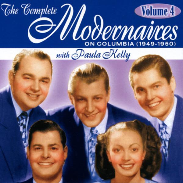 MODERNAIRES - Vol.4, Complete Columbia (& Paula Kelly)