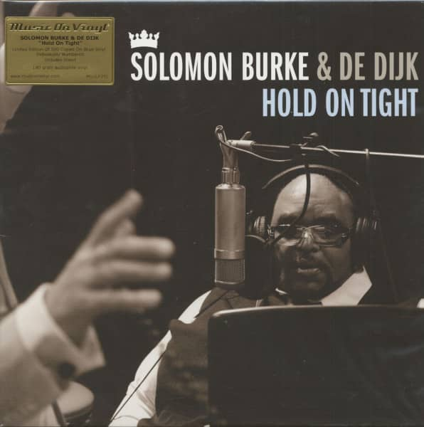 Solomon Burke & De Dijk - Hold On Tight (LP, 180g Vinyl, Ltd.)