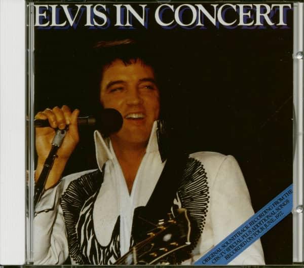Elvis In Concert (CD)