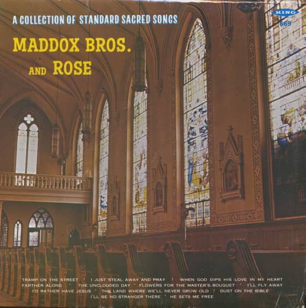 A Collection Of Standard Sacred Songs (LP)