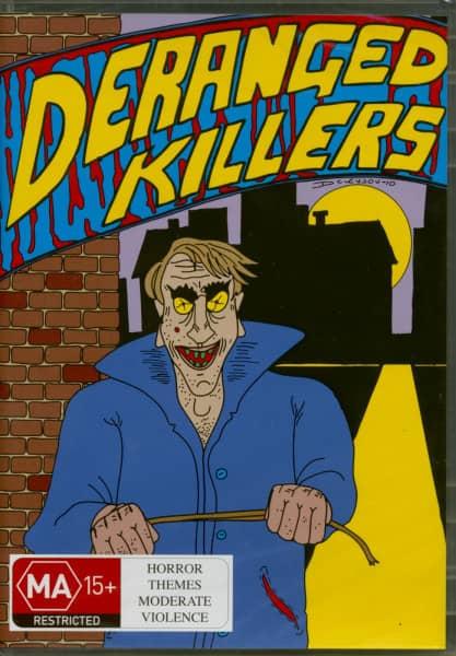 Deranged Killers - B-Movies 1934-61 (3-DVD)