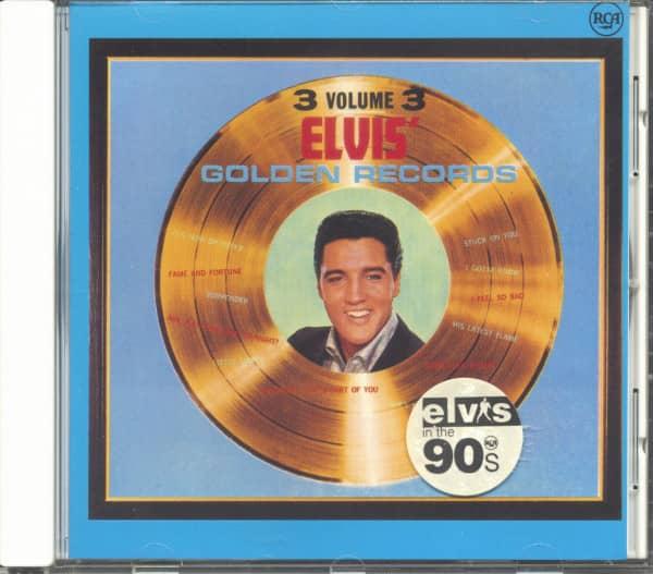 Elvis' Golden Records Volume 3 (CD)