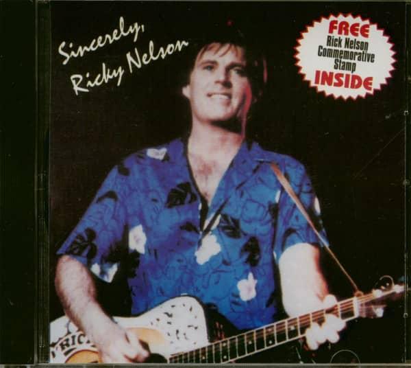 Sincerly Ricky Nelson (CD)