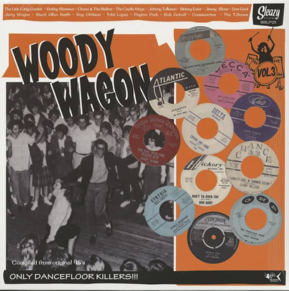 Woody Wagon, Vol.3 (LP)