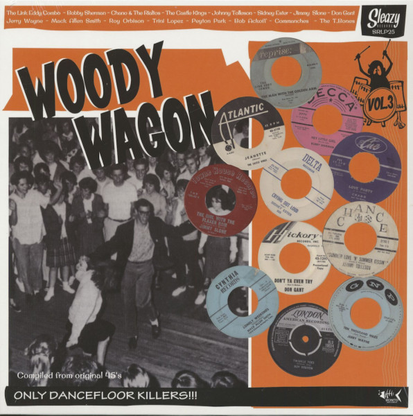 Woody Wagon, Vol.3 (LP)