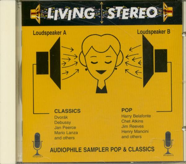 Living Stereo Sampler (CD)