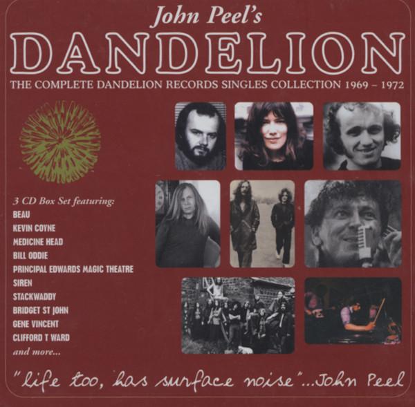 Dandelion Single Collection (3-CD) Cap-Box