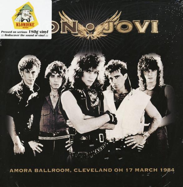 Amora Ballroom, Cleveland OH 17 March 1984 (LP)