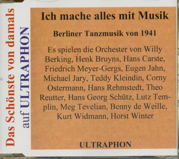 Berliner Tanzmusik von 1941- Das Schönste Von Damals (CD)