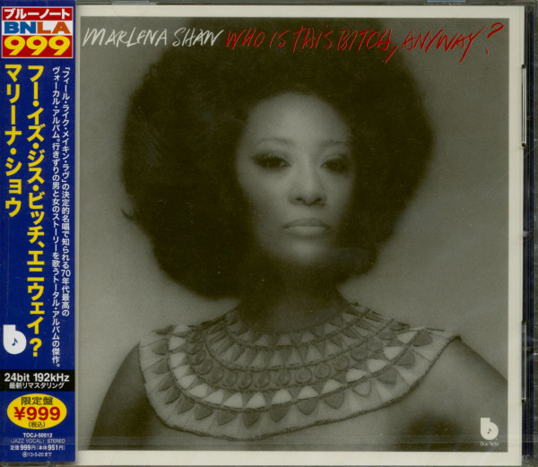 Who Is This Bitch, Anyway ? (CD, Japan)