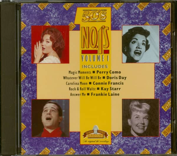 The Old Gold Collection - 50´s Number Ones Volume 1 (CD)