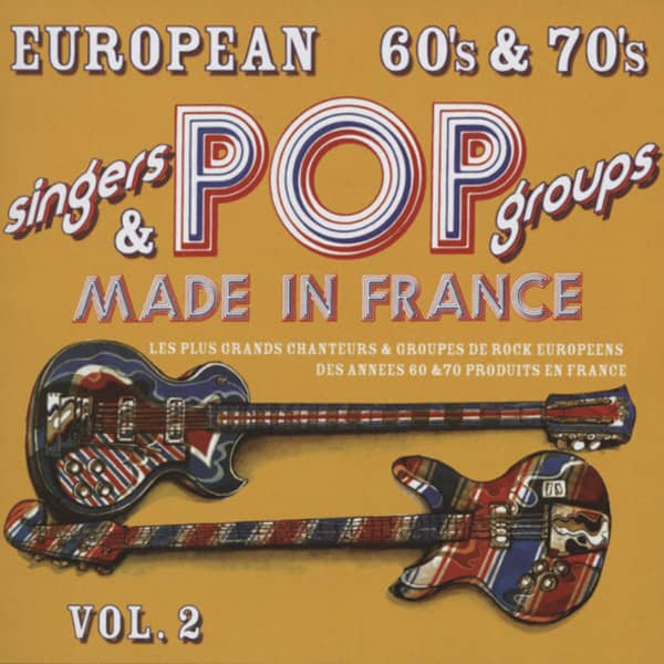 Various - Vol.2, European 60s & 70s Made In France