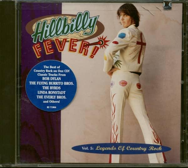Hillbilly Fever! - Legends Of Country Rock Vol.5 (CD)
