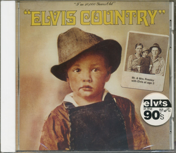 Elvis Country - I'm 10.000 Years Old (CD, US Version)