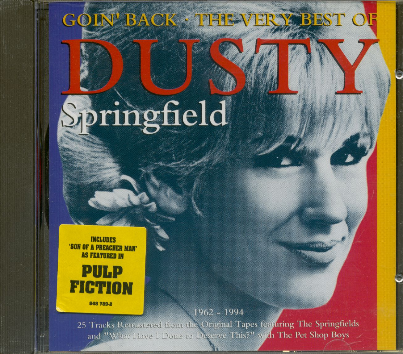 Dusty Springfield Cd Goin Back Very Best Cd Bear