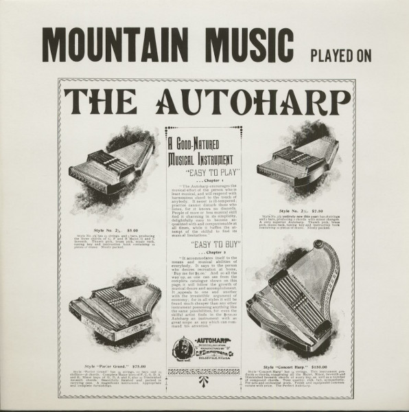 Mountain Music Played On The Autoharp (LP)