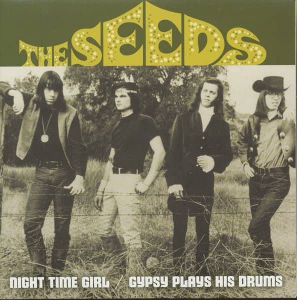 Night Time Girl - Gypsy Plays His Drums (7inch, 45rpm, PS)