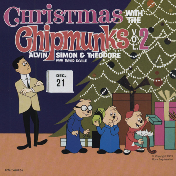 Vol.2, Christmas With The Chipmunks (1963)