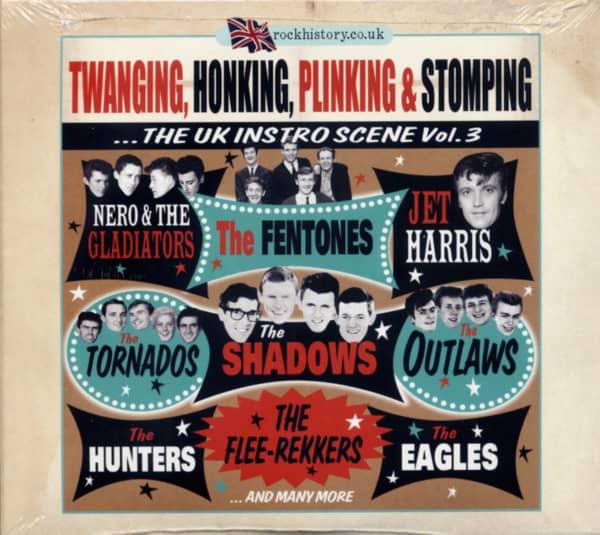 Twanging, Honking, Plinking, & Stomping - The UK Instro Scene Vol.3 (2-CD)