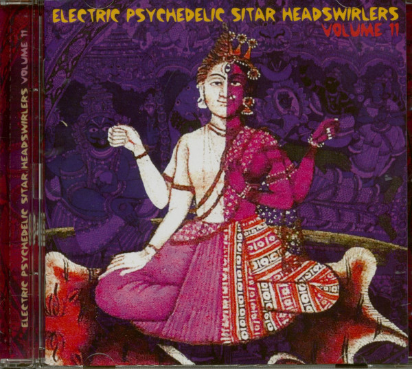 Electric Psychedelic Sitar Headswirlers Vol.11 (CD)